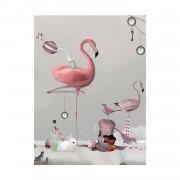 Flamingo Kids Poster 30 x 40 cm