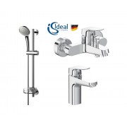Ideal Standard Set baterii 3in1 Ideal Standard Ceraflex include baterie cada, baterie lavoar si set dus Pachete promotionale