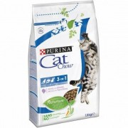 Purina Cat Chow Adult 3 in 1 Ricco in Tacchino 1.5kg