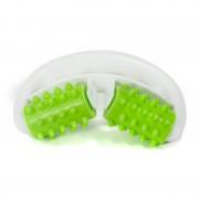 Rola Masaj Anticelulitic cu Conuri Silicon cu Maner Culoarea Verde