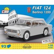 Set de constructie Cobi, Youngtimer, FIAT 124 BERLINA 1200, 93 piese