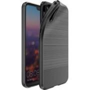 Husa de protectie Huawei P20 Dux Ducis rezistenta la socuri cu placuta metalica negru