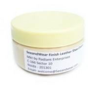 SeeandWear All Colour Leathers Medium Shine Leather, Synthetic Leather Shoe Cream(Neutral)
