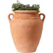 Garantia regenton amphora terra 360 liter met plantenbak
