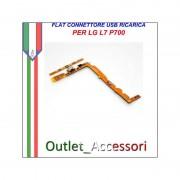 Flat Connettore USB Ricarica LG L7 P700 Home Microfono Ricambio Originale