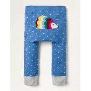 Mini Elisabethanisches Blau, Igel Strick-Leggings Baby Baby Boden, 92, Blue