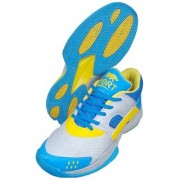 Port Men's Multicolor Neo-Limited Edition PU Badminton Shoes
