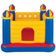 Детски надуваем център за игра - батут Замък, INTEX, 748259