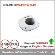 Hikvision English Version DS-2CD2542FWD-IS 4MP WDR Mini Dome Network Camera