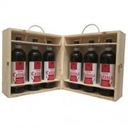 Birra Morena Craft Beer - 6 bottiglie cl 75 in cassa di Abete - Naturale - Celtica Scotch Ale