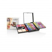 Cameleon MakeUp Kit Deluxe G2363 (66x Eyeshadow, 5x Blusher, 2x Pressed Powder, 4x Lipgloss, 3x Applicator) -