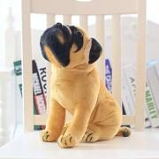 Trending Brand New Stuffed Orignal Attractive Looking Security Purpose & Kids Playing Dog's German Shepherds (Small, Pug Dog)