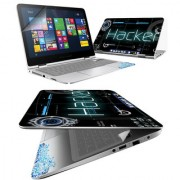 FineArts Hacker 4 in 1 Laptop Skin Pack with Screen Guard Key Protector and Palmrest Skin