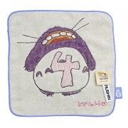 My Neighbor Totoro Mini Number Towel Totoro4 (Japan Import)