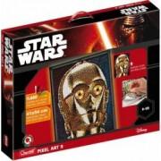 Pixel Art Star Wars C-3PO Quercetti