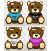 Аpple iPhone 7 Plus / iPhone 8 Plus (силиконов калъф) 'Teddy bear'