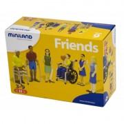 Set figurine persoane cu handicap Miniland, 6 piese