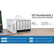 NAS, TerraMaster D5-Thunderbolt3, DAS storage, 5 bay