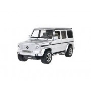 RASTAR 30400 1:14 6 Channel Remote Control Mercedes-Benz G55 AMG Car Model with Light (Silver) + Worldwide free shiping