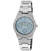 Timex Quartz Blue Round Women Watch J102