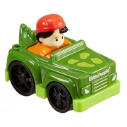 Fisher Price Little People Wheelies Koby And Dinosaur