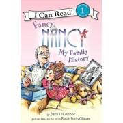 Fancy Nancy: My Family History, Paperback