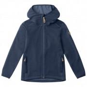 Fjällräven - Kid's Keb Fleece Hoodie - Veste en laine taille 122, bleu