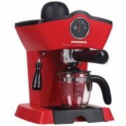 Espressor Heinner HEM 200RD 800W 3.5 bar filtru inox 250 ml Rosu