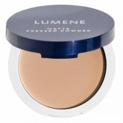 Lumene Matte Pressed Powder 4 Warm Beige