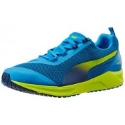 Puma Men's IGNITE XT Cloisonné, Poseidon and Sulphur Spring Mesh Running Shoes - 7 UK/India (40.5 EU)