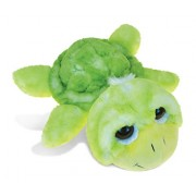 Puzzled Green Sea Turtle Large Super - Soft Stuffed Plush Cuddly Animal Toy Ocean Life Theme 11 Inch (5390)