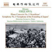 Ohzawa - Piano Concerto No.3/ Sym. N (0747313241620) (1 CD)
