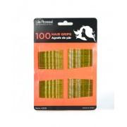 Agrafe de Par Ieftine - 100 buc Aurii