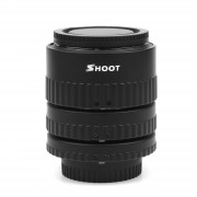 SHOOT XT-365 Auto Focus AF Macro Extension Tube Adapter Ring Set 12mm 20m 36mm for Nikon F-mount AF Lens for Nikon DSLR Cameras