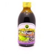 Sirop de coacaz negru cu indulcitor natural 250ml HYPERICUM