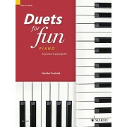 Duets for Fun Piano. Easy Pieces to Play Together: Piano Four Hands, Paperback/***