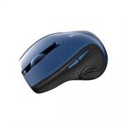 Canyon CNS-CMSW01BL, Wireless optická myš USB, 6 tlač., 1000/1200/1600 dpi, LED senzor s modrým podsv., perleťovo modrá