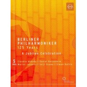 Berliner Philharmoniker: 125 Years - A Jubilee Celebration [5 Discs] [DVD] [1998]
