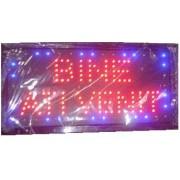 Panou Afisaj Reclama cu LED 50x25cm Bine Ati Venit