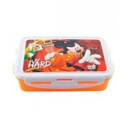 ski Disney printed 800 ml LUNCH BOX FOR SCHOOL KIDS(colours and print depends on availability)
