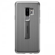Калъф Samsung Galaxy S9+, Protective standing cover, Silver, EF-RG965CSEGWW