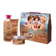 Dermacol Aroma Ritual Irish Coffee Kit 7088 500Ml Bath Foam 500 Ml + Shower Gel 250 Ml + Body Peeling 200 G Irish Coffee Per Donna (Cosmetic)