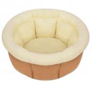 vidaXL Кучешко легло, размер XL, бежово