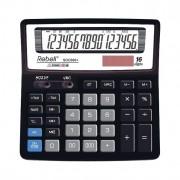 Calculator de birou, 16 digits, 156 x 156 x 30 mm, Rebell SDC 660+ - negru