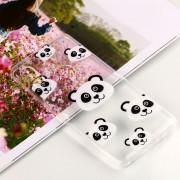 Para Xiaomi Mi 6x / A2 Panda Patron TPU Suave Aceite De Clara En Asunto De Proteccion