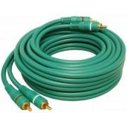 Kabel 2*Cinch 1,5m Gold