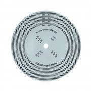 Audio Technica AT6180, stroboskop disc