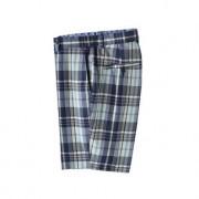 Brooks Brothers Madras-Shorts, 50 - Blau/Gelb/Türkis