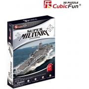 Puzzle 3D Cubic Fun - USS Enterprise - London, 121 piese (Cubic-Fun-P677h)