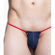 Mategear Ji Hu II Special Fabrics Series Maximizer Ultra Bikini Swimwear Navy White 1280503